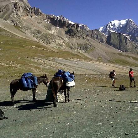 Col de la Seigne, Tour du Mont Blanc Val Vény, Val d Aoste, Courmayeur