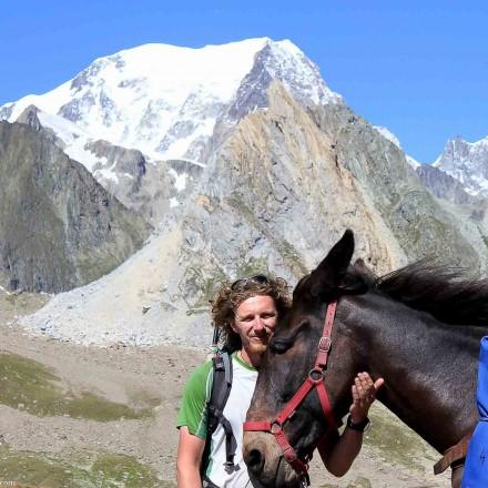 tour du mont blanc Col de la Seigne, entre Savoie et Val d Aoste