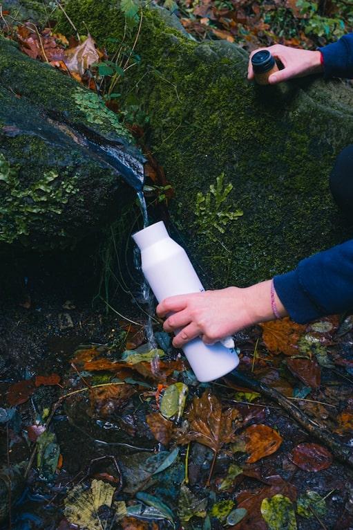 eau randonnée - s'hydrater en randonnée - boire en randonnée - manger en randonnée