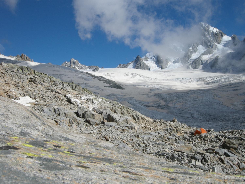Tour du Mont Blanc - bivouac