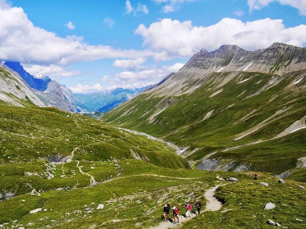 Faire le tour du mont blanc avec un guide - trek de 4 jours