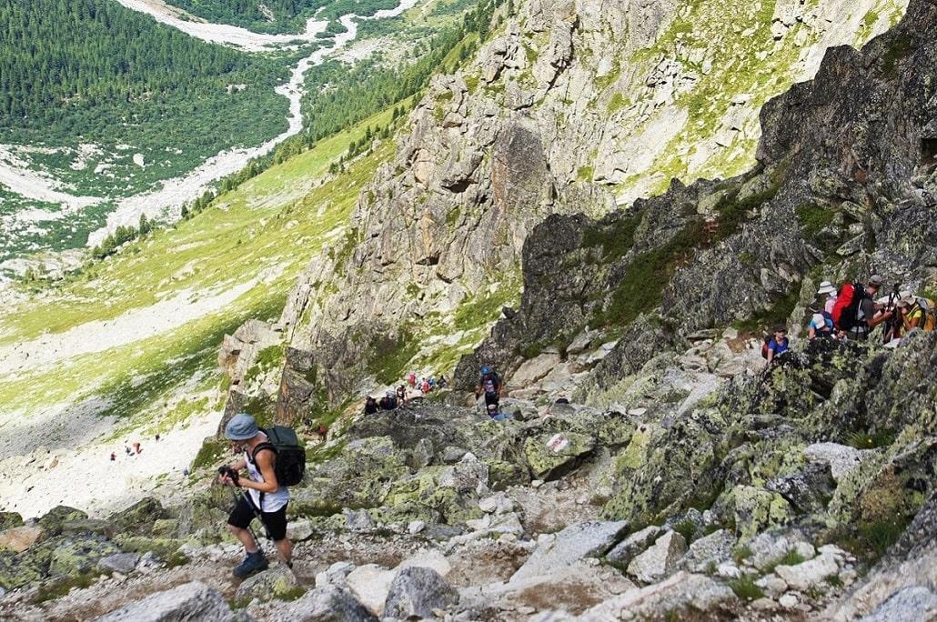 Variante Tour du Mont Blanc Fenêtre d'Arpette