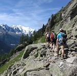tour du mont blanc intégral - 11 jours - passage balcon