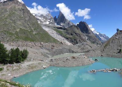 Lac sur le Tour du Mont Blanc