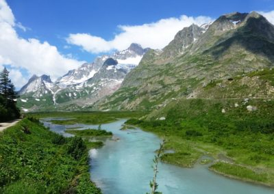 Rives du Lac Combal - Trekking Mont Blanc