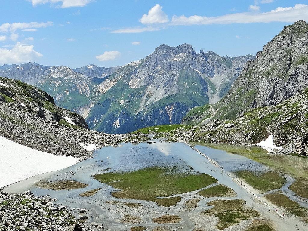 Lac des Vaches, parc national de la Vanoise