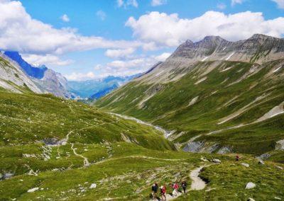 Montée au Col de la Seigne - Tour du Mont Blanc