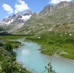 tour du mont blanc avec un guide de trek - lac combal