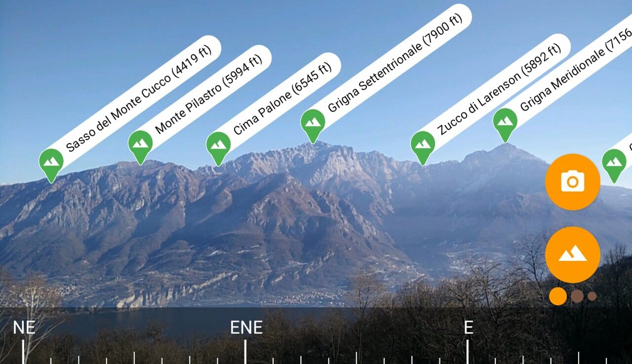 Peaklens - application de randonnée et trek