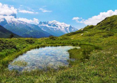 Sentier du Tour du mont Blanc - Aiguillette des Posettes