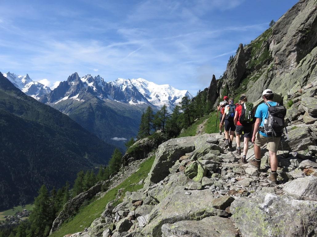 Tour du Mont Blanc intégral 11 jours