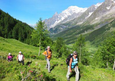 Val Ferret vers refuge Bonatti