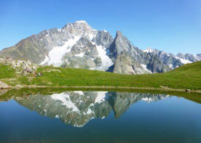 Vers Col Chécroui - étape tour du mont blanc 7 jours