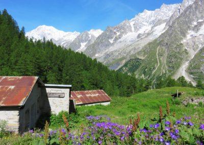 Vers refuge Bonatti
