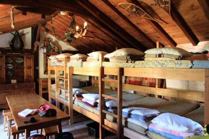 dortoirs refuge tour du mont blanc