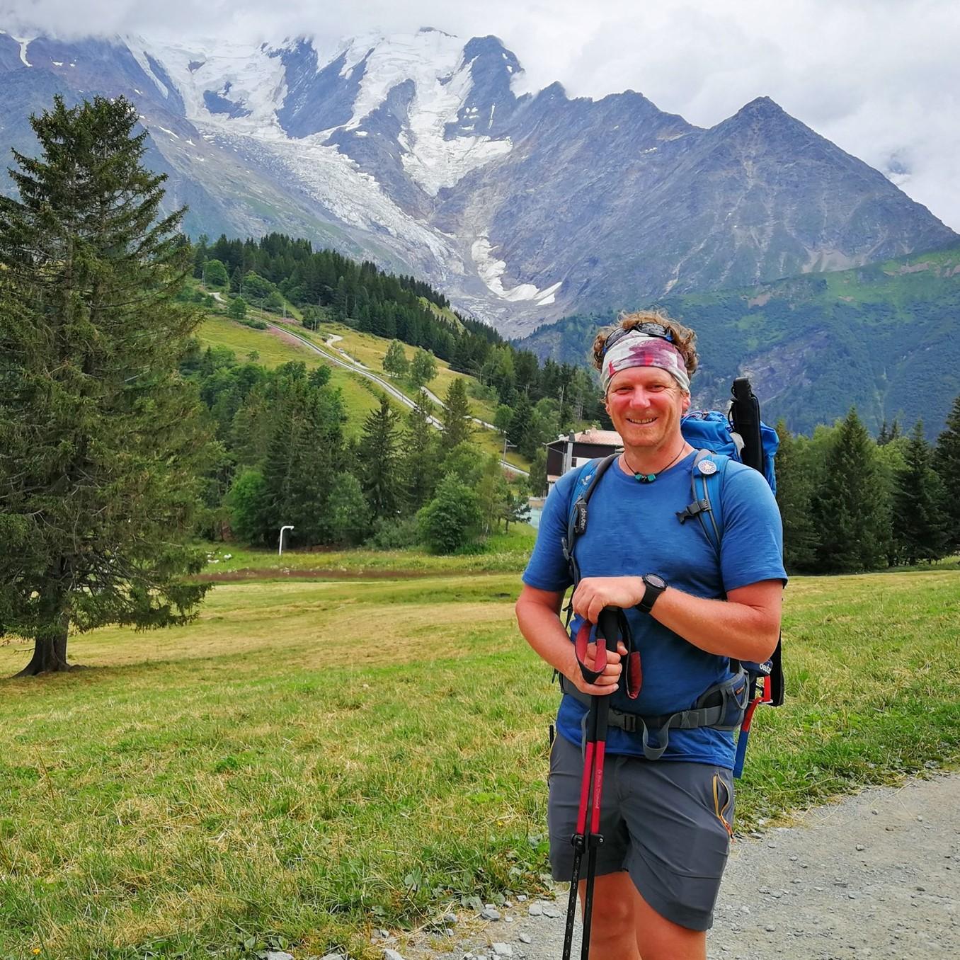 Sébastien - guide Watse sur le Tour du Mont Blanc