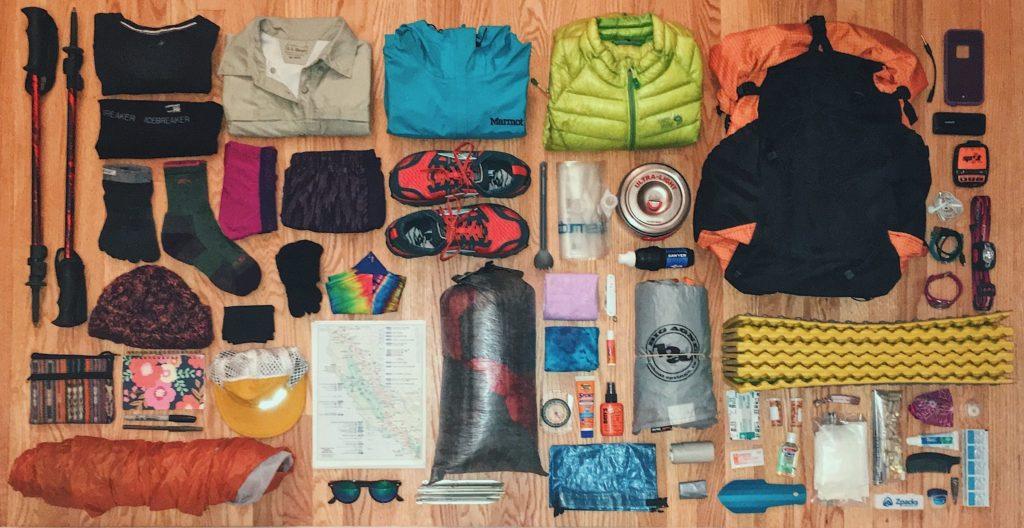 Matériel pour faire le Tour du Mont Blanc à pied