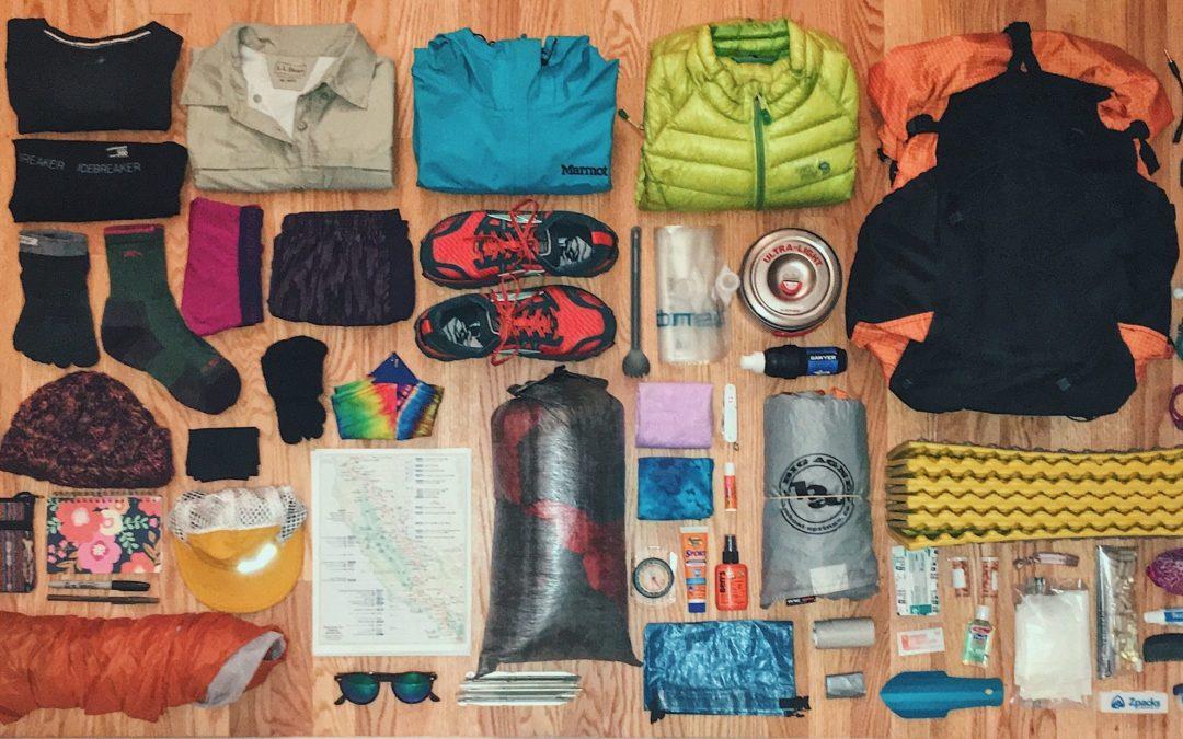 Liste de matériel pour le Tour du Mont Blanc (2/2)