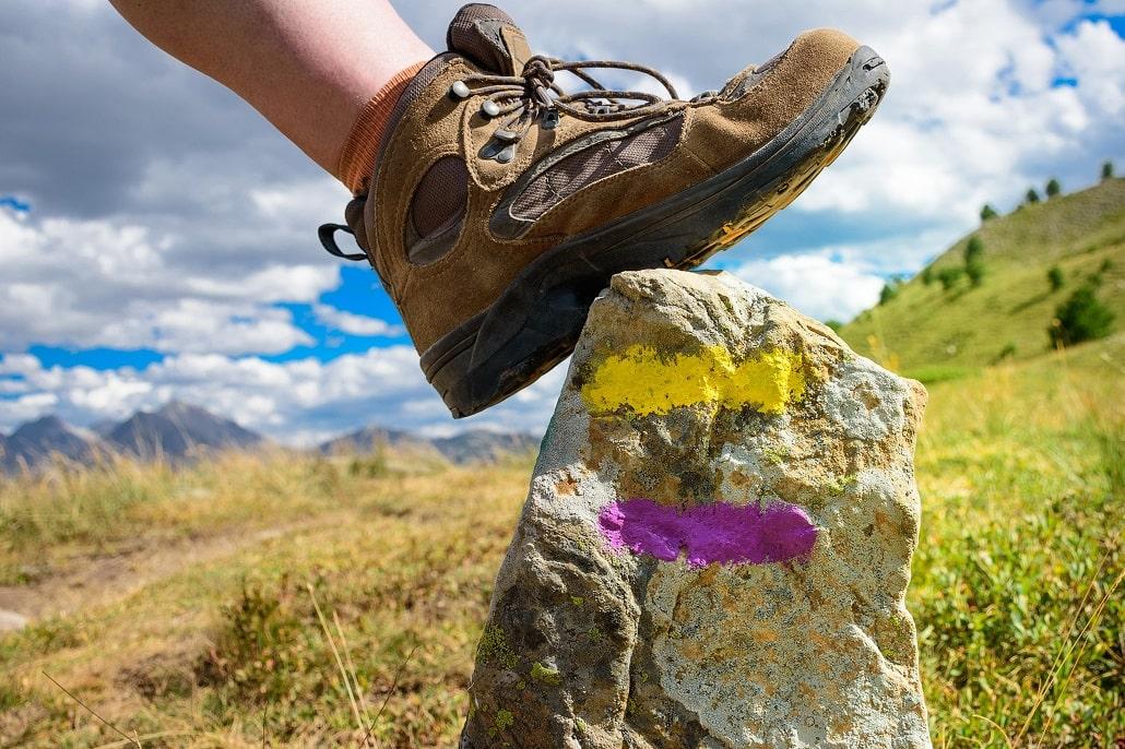 maintien de la cheville des chaussures de randonnée & trek