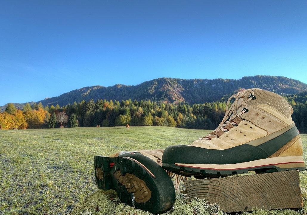 protection des chaussures de trek