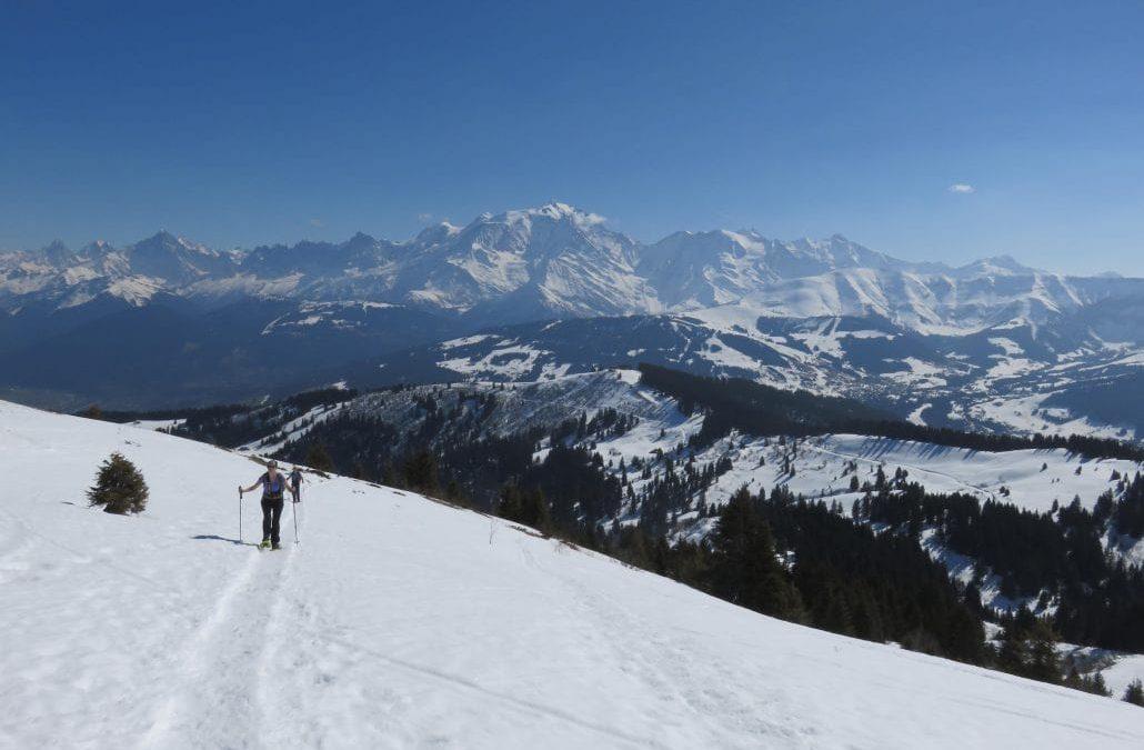 randonnée raquettes en pays du mont blanc - 6 itinéraires - watse trekking mont blanc